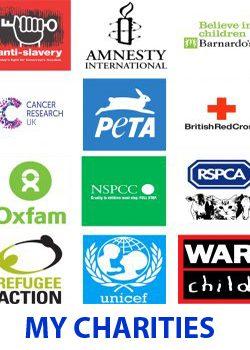 charity logos ajay ahuja